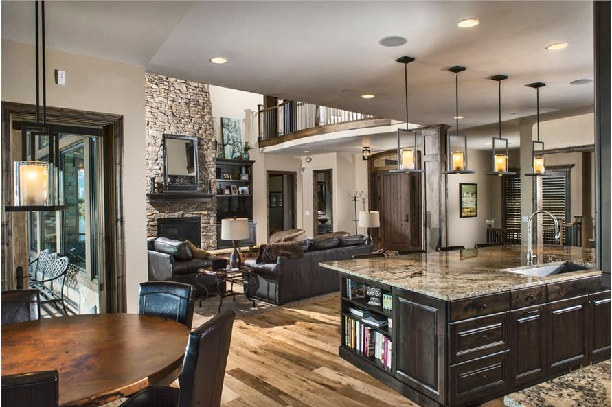 Home Interior Photograph of this 4-Bedroom,5449 Sq Ft Plan -5449