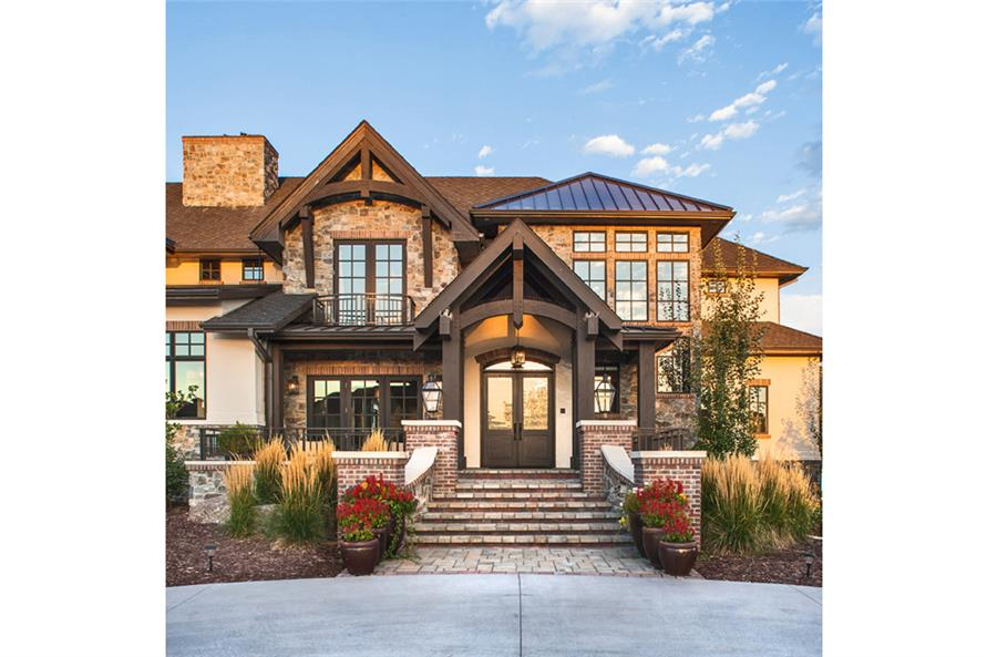 Front Door of this 5-Bedroom,6563 Sq Ft Plan -6563