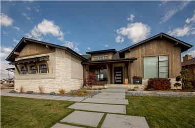 2-Bedroom, 2196 Sq Ft Ranch Home Plan - 161-1078 - Main Exterior