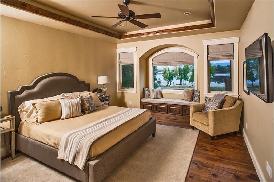 Bedroom of this 3-Bedroom,3367 Sq Ft Plan -3367