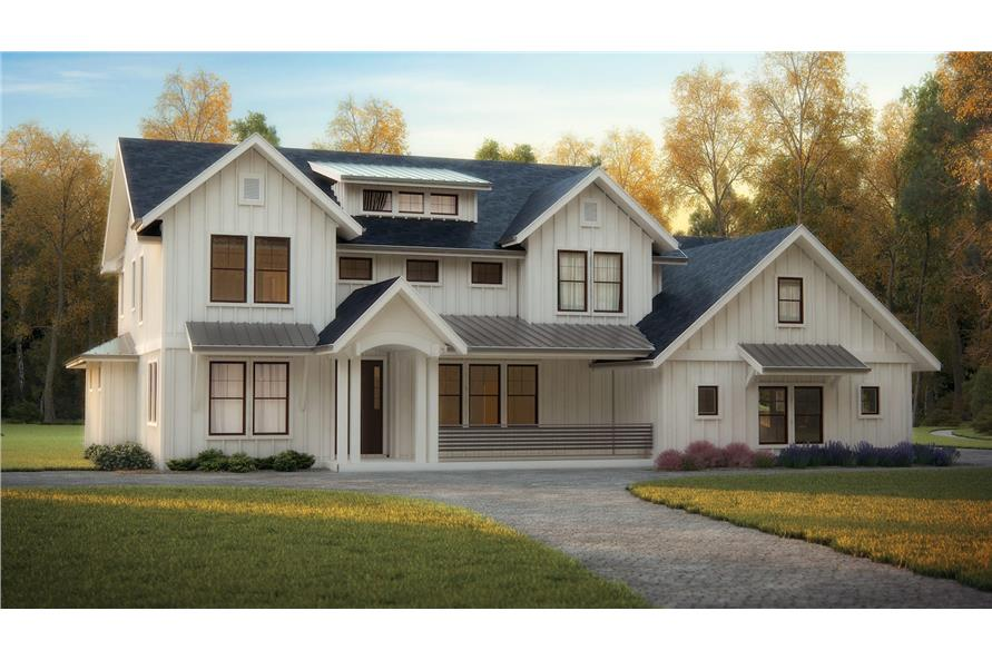 Home Plan Rendering of this 4-Bedroom,3231 Sq Ft Plan -3231