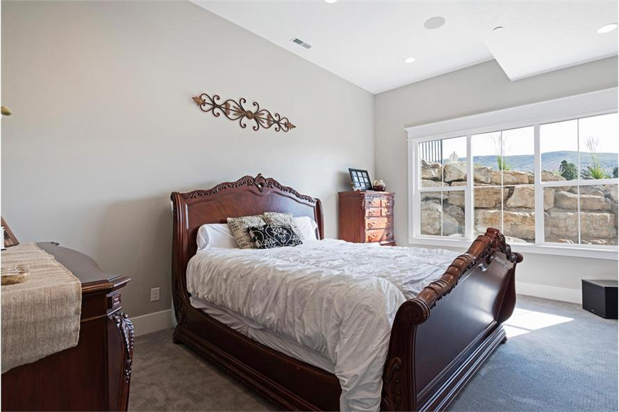 Bedroom of this 4-Bedroom,3757 Sq Ft Plan -3757