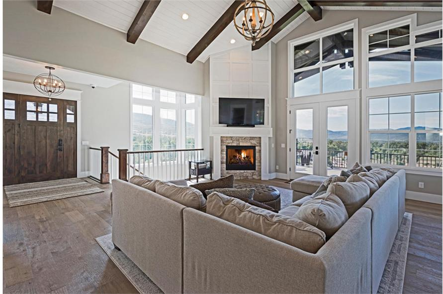 Great Room of this 4-Bedroom,3757 Sq Ft Plan -3757