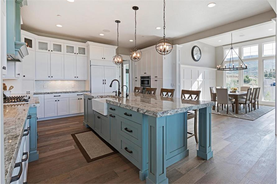 Kitchen of this 4-Bedroom,3757 Sq Ft Plan -3757