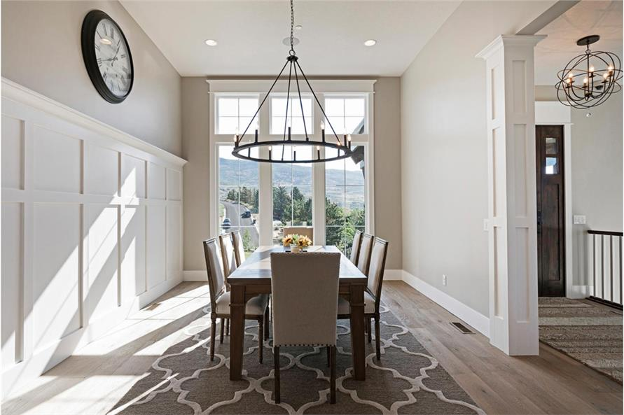 Dining Room of this 4-Bedroom,3757 Sq Ft Plan -3757