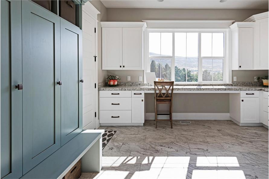Laundry Room of this 4-Bedroom,3757 Sq Ft Plan -3757