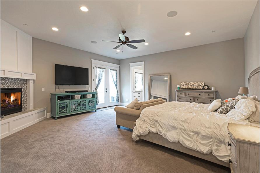 Master Bedroom of this 4-Bedroom,3757 Sq Ft Plan -3757