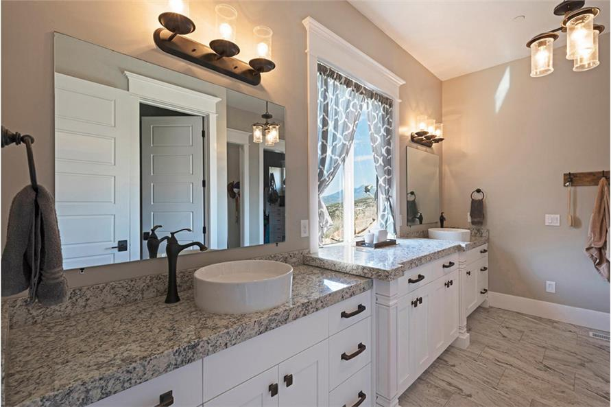 Master Bathroom of this 4-Bedroom,3757 Sq Ft Plan -3757