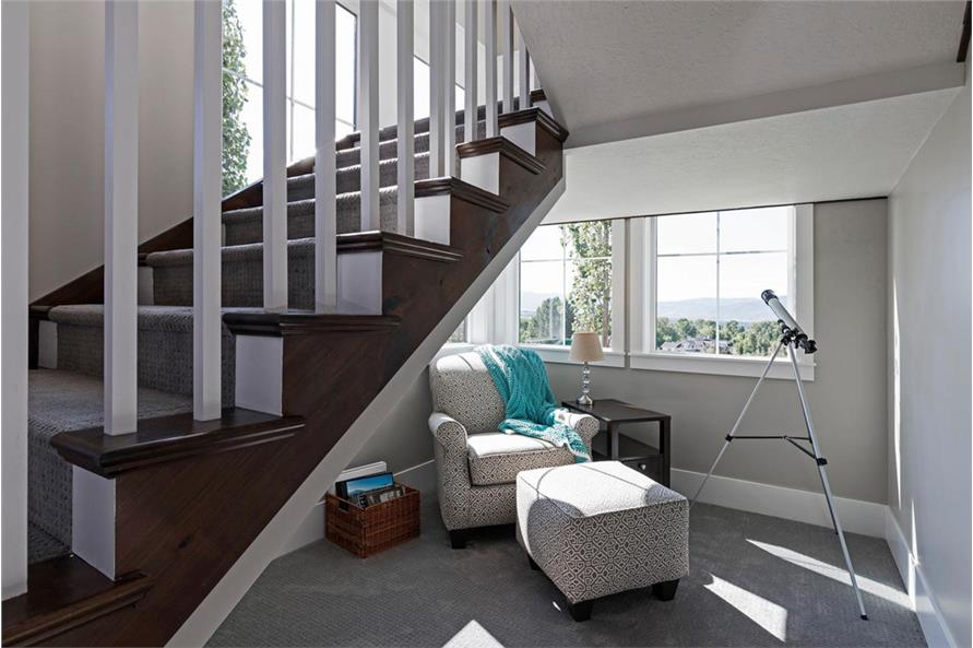 Entry Hall: Staircase of this 4-Bedroom,3757 Sq Ft Plan -3757