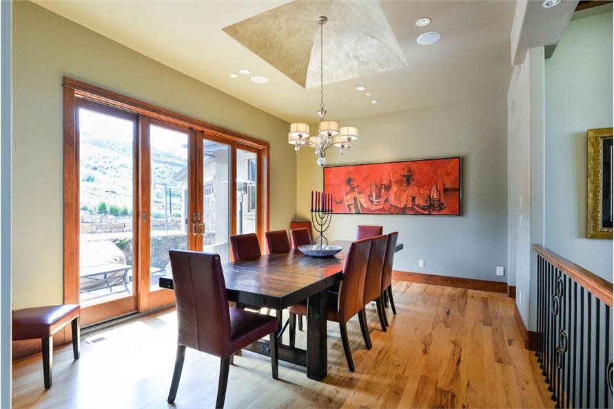 Dining Room of this 2-Bedroom,3469 Sq Ft Plan -3469