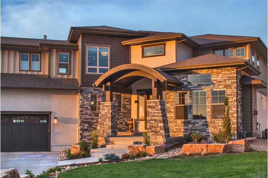Home Exterior Photograph of this 3-Bedroom,3305 Sq Ft Plan -3305