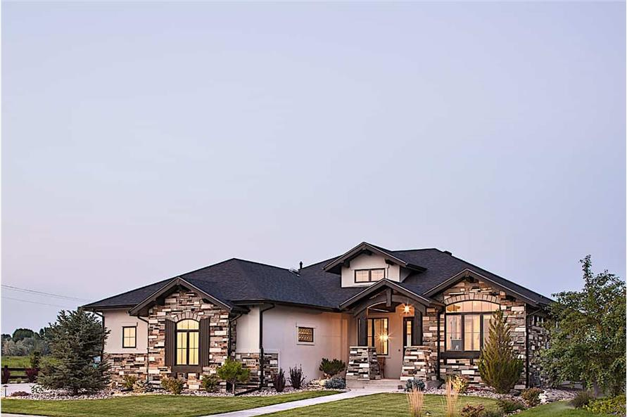 Home Exterior Photograph of this 2-Bedroom,2422 Sq Ft Plan -161-1097