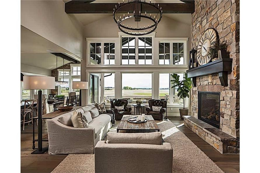 Great Room of this 2-Bedroom,2682 Sq Ft Plan -2682