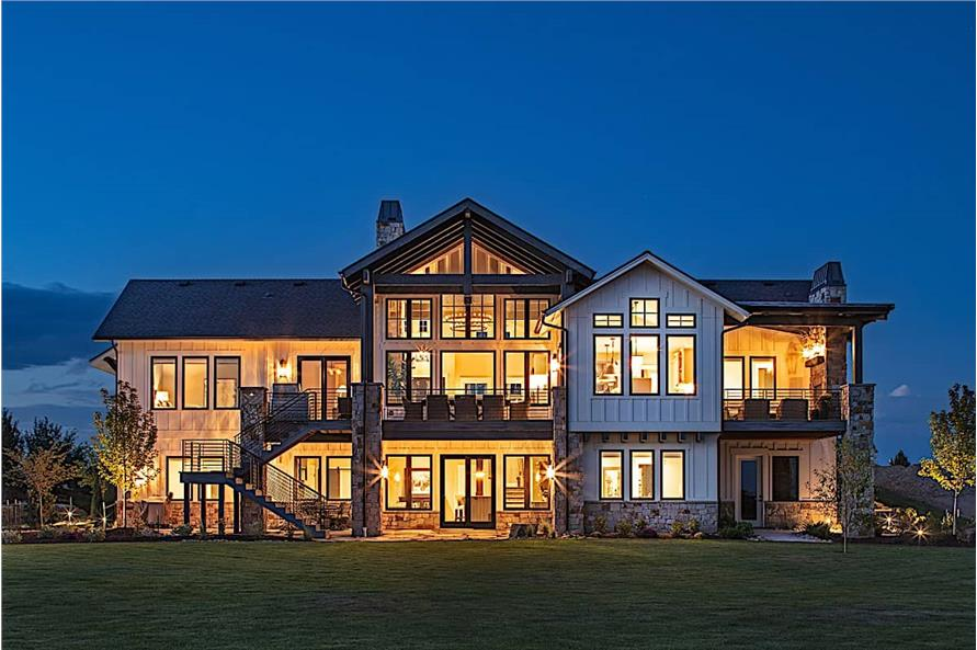Home at Night of this 2-Bedroom,2682 Sq Ft Plan -2682