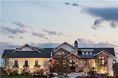 2–5-Bedroom, 2682 Sq Ft Ranch Home Plan - 161-1099 - Main Exterior