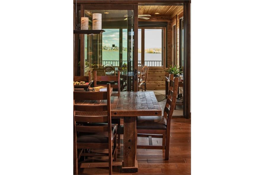 Kitchen: Breakfast Nook of this 1-Bedroom,2815 Sq Ft Plan -2815