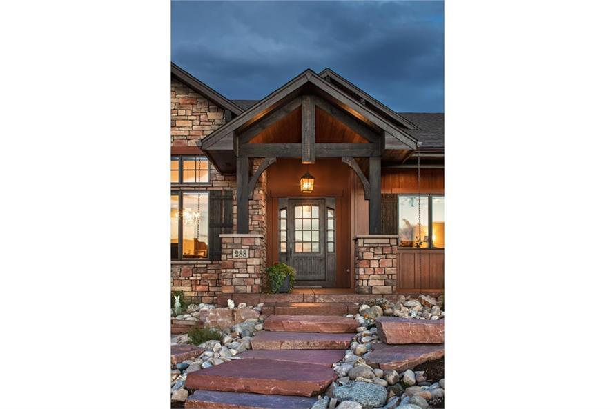 Front Door of this 1-Bedroom,2815 Sq Ft Plan -2815