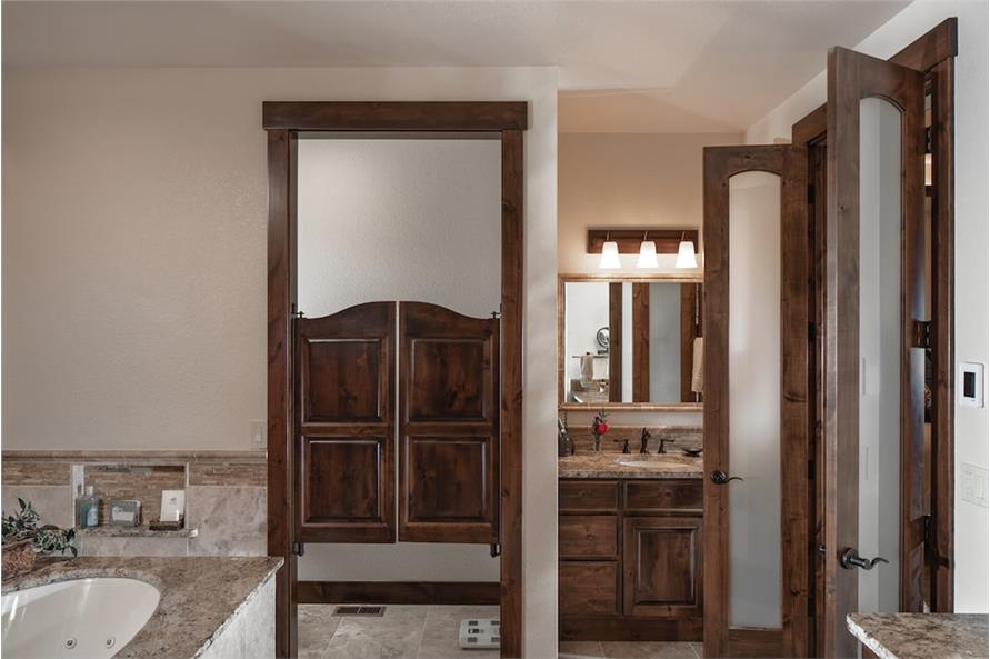 Master Bathroom of this 1-Bedroom,2815 Sq Ft Plan -2815