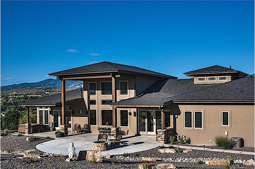 Rear View of this 2-Bedroom,2862 Sq Ft Plan -2862
