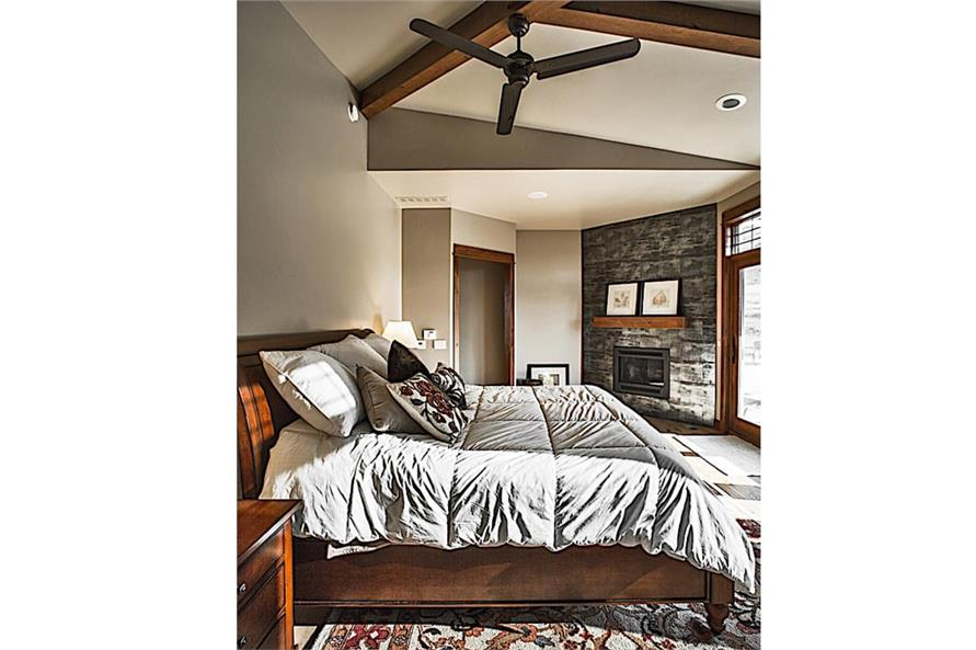 Master Bedroom of this 2-Bedroom,2862 Sq Ft Plan -2862