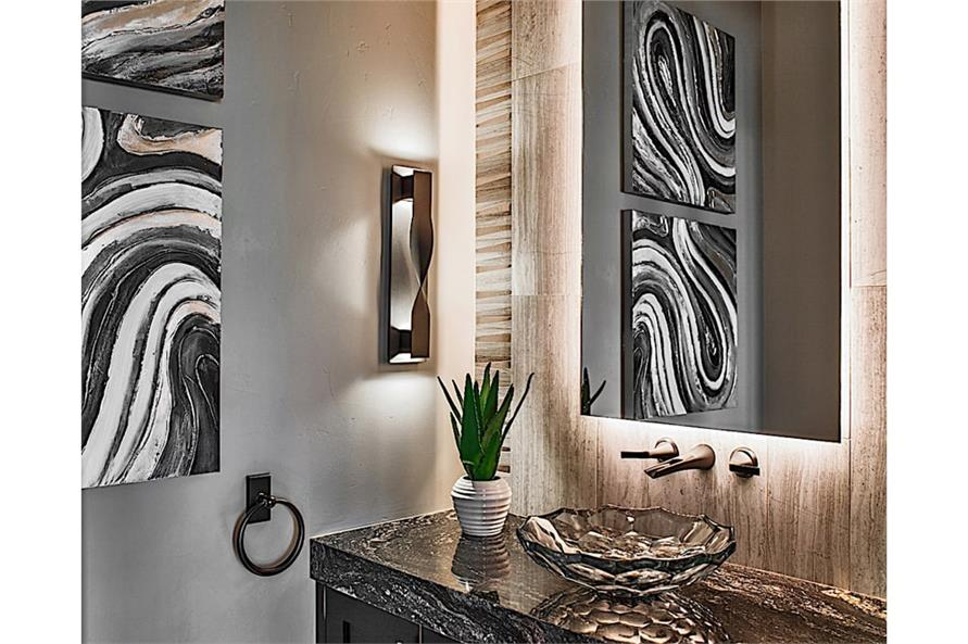 Powder Room of this 2-Bedroom,2862 Sq Ft Plan -2862