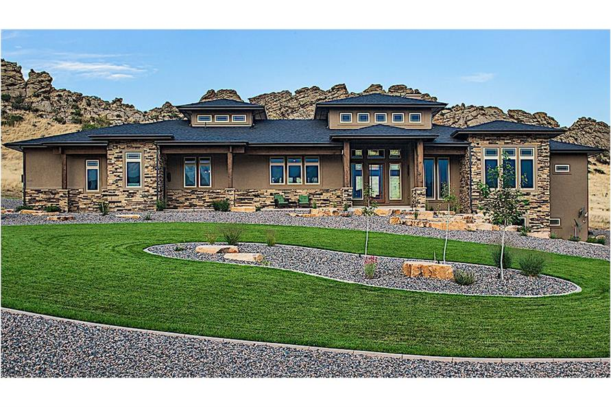 Home Exterior Photograph of this 2-Bedroom,2862 Sq Ft Plan -2862