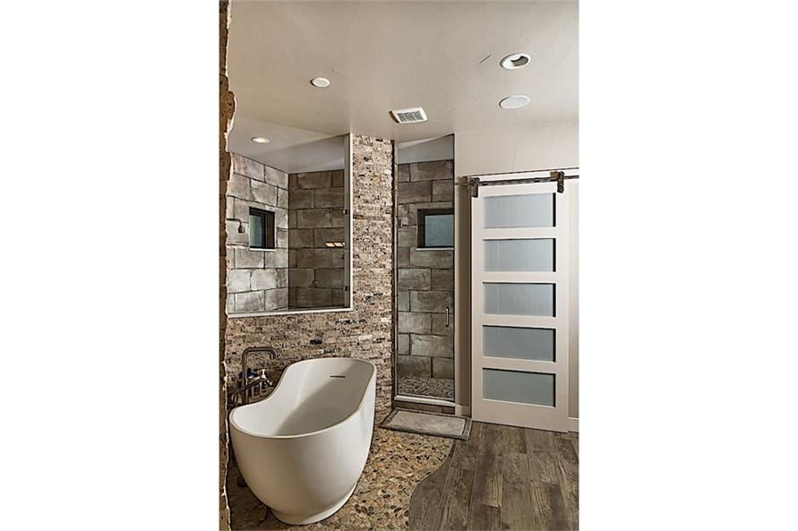 Master Bathroom of this 3-Bedroom,3587 Sq Ft Plan -3587