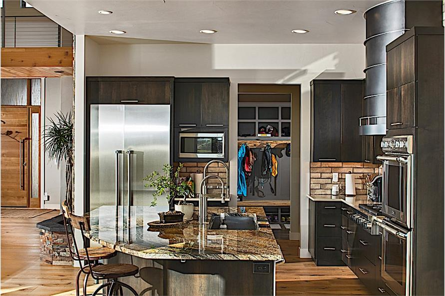 Kitchen of this 3-Bedroom,3587 Sq Ft Plan -3587
