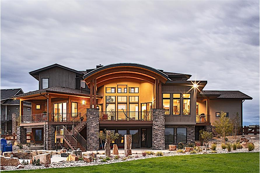 Home Exterior Photograph of this 3-Bedroom,3587 Sq Ft Plan -3587