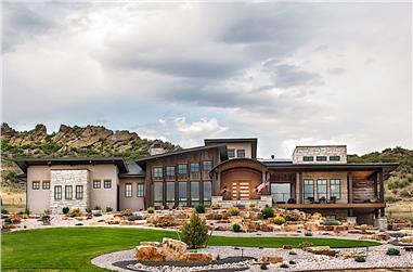 2–4-Bedroom, 2891 Sq Ft Ranch Home - Plan #161-1107 - Main Exterior