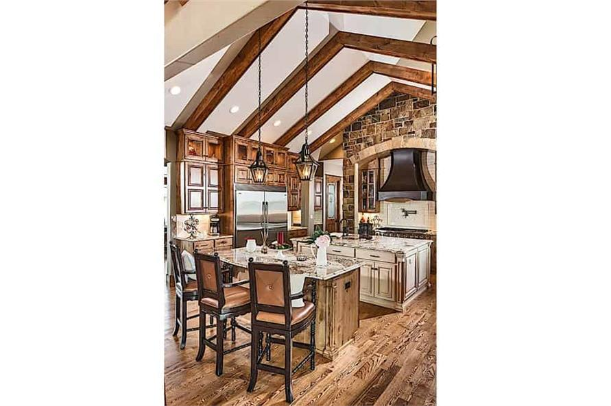 Kitchen of this 4-Bedroom,4917 Sq Ft Plan -4917