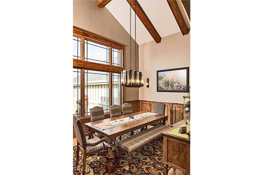 Dining Room of this 4-Bedroom,4917 Sq Ft Plan -4917