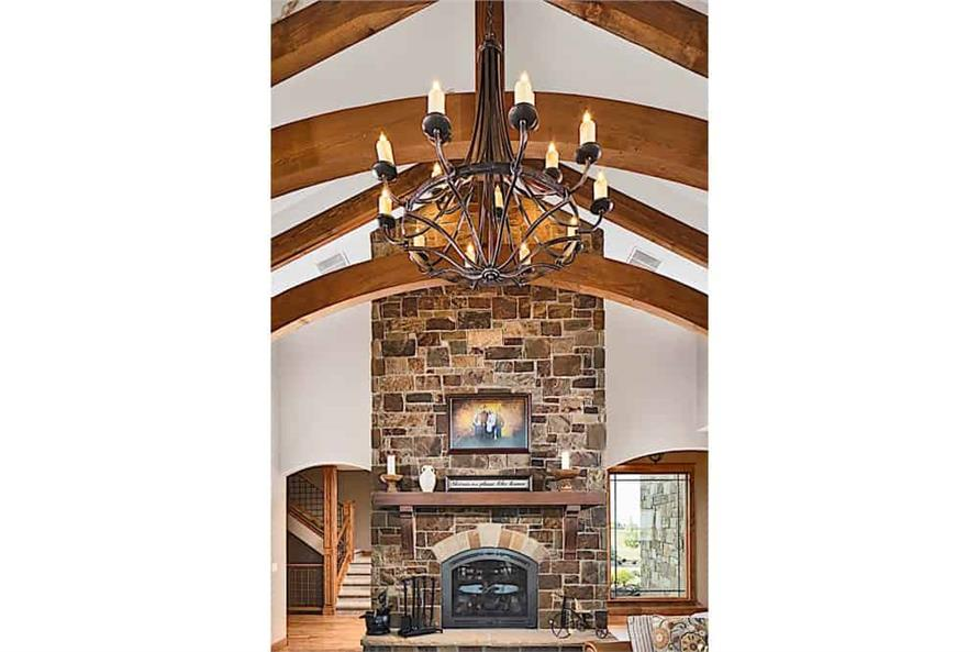 Great Room of this 4-Bedroom,4917 Sq Ft Plan -4917