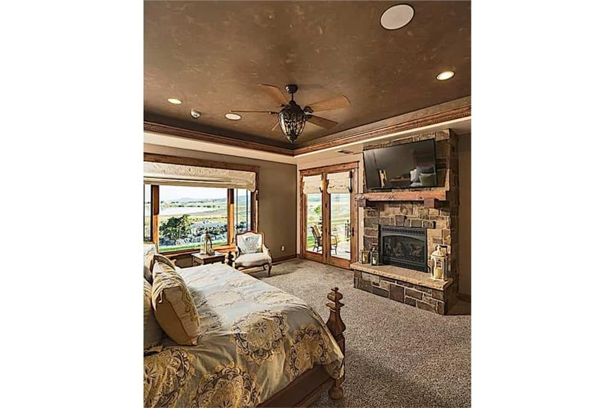 Master Bedroom of this 4-Bedroom,4917 Sq Ft Plan -4917