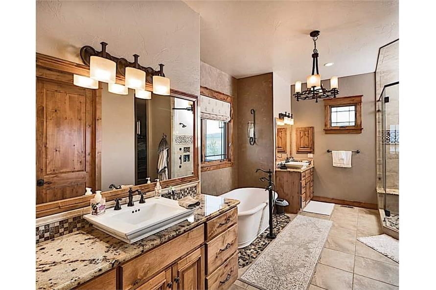 Master Bathroom of this 4-Bedroom,4917 Sq Ft Plan -4917
