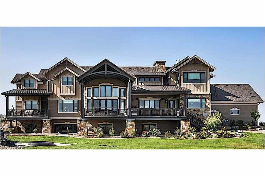 Home Exterior Photograph of this 4-Bedroom,4917 Sq Ft Plan -4917