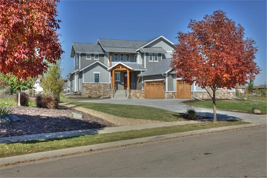 Home Exterior Photograph of this 5-Bedroom,3307 Sq Ft Plan -3307