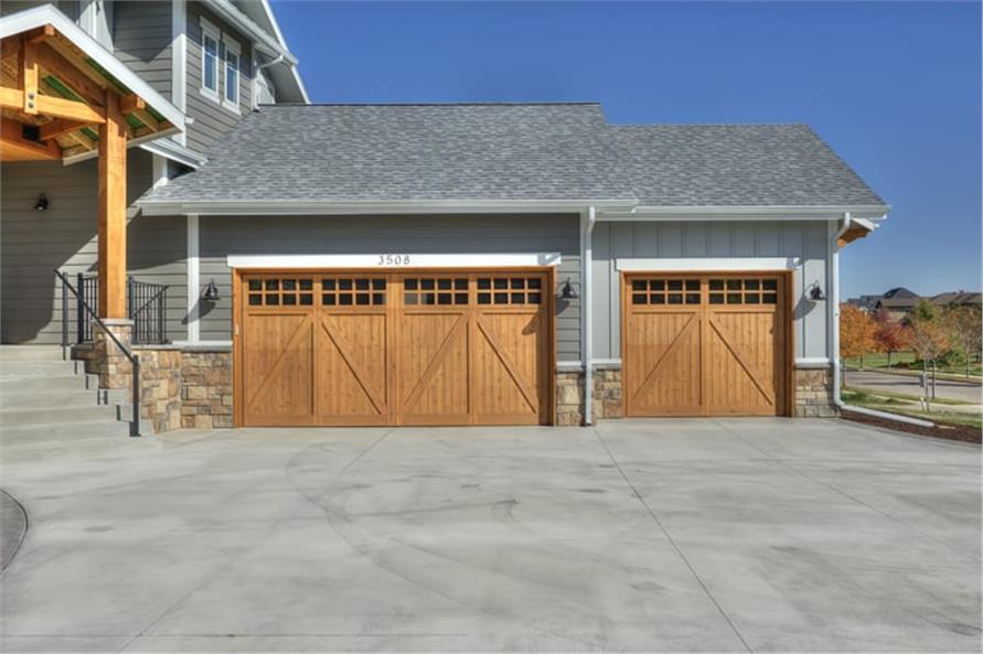 Garage of this 5-Bedroom,3307 Sq Ft Plan -3307