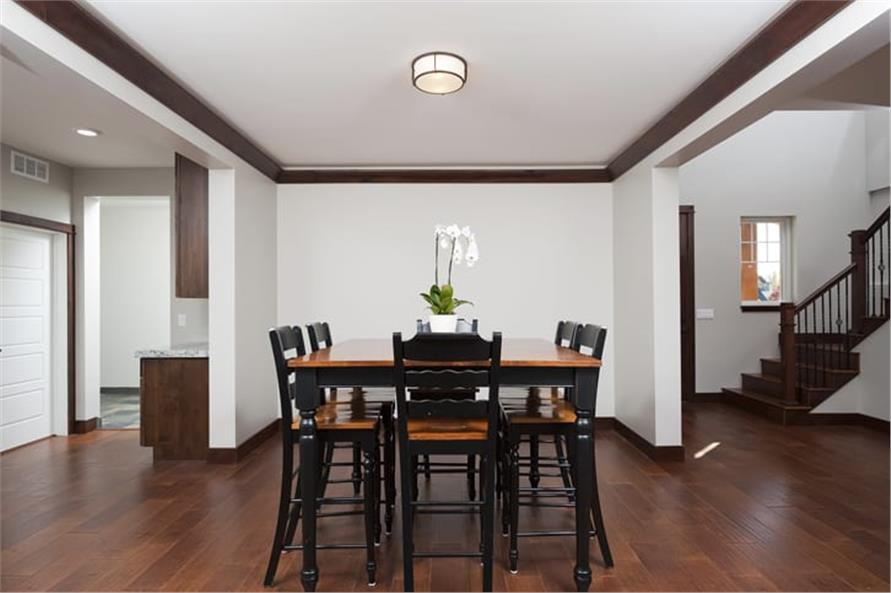 Dining Room of this 5-Bedroom,3307 Sq Ft Plan -3307