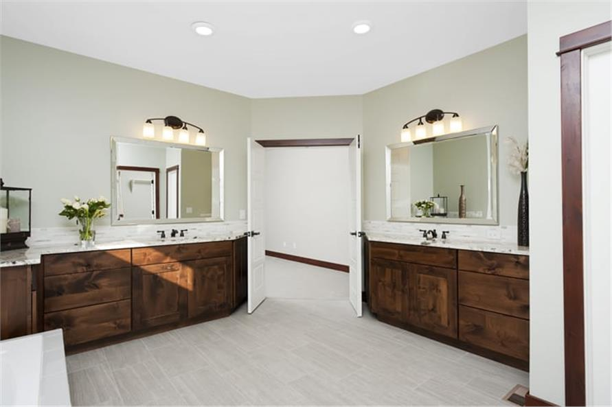 Master Bathroom of this 5-Bedroom,3307 Sq Ft Plan -3307