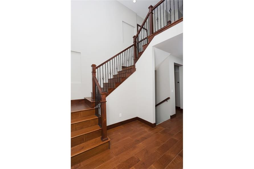 Entry Hall: Staircase of this 5-Bedroom,3307 Sq Ft Plan -3307