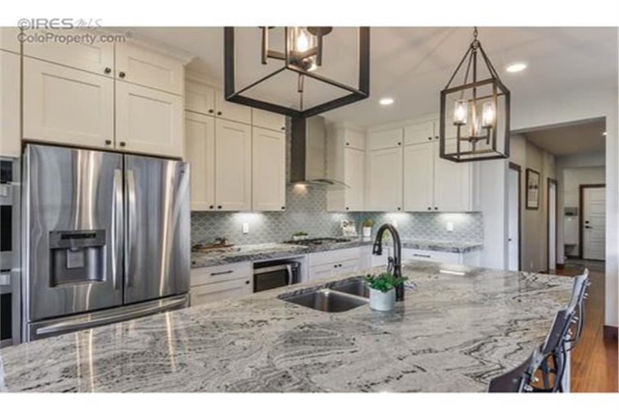Kitchen of this 5-Bedroom,3307 Sq Ft Plan -3307