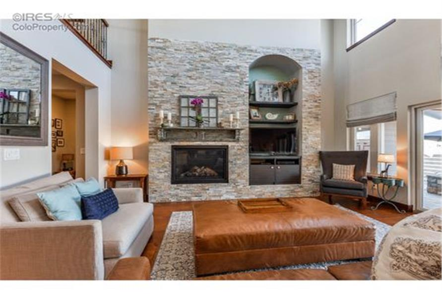 Great Room of this 5-Bedroom,3307 Sq Ft Plan -3307