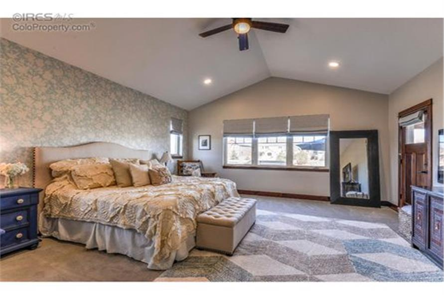Master Bedroom of this 5-Bedroom,3307 Sq Ft Plan -3307