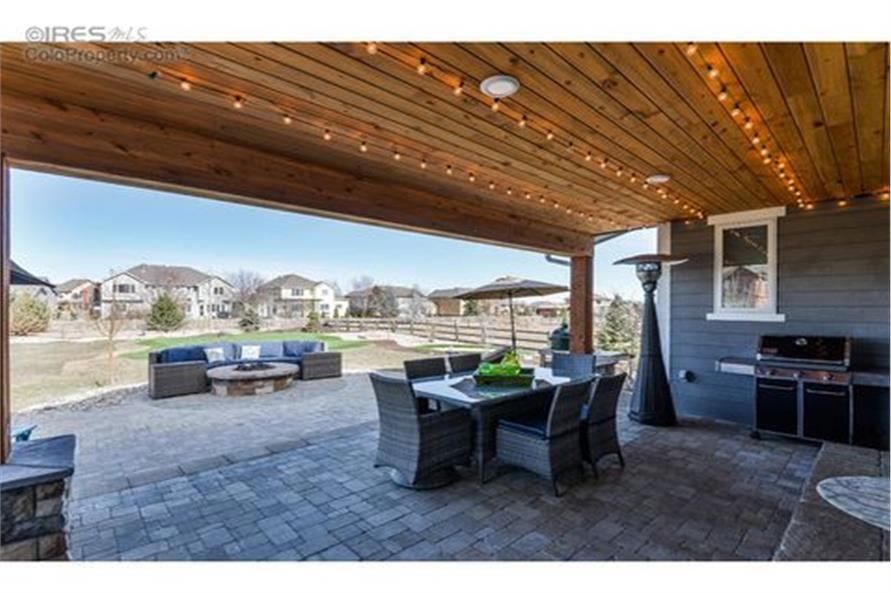 Patio of this 5-Bedroom,3307 Sq Ft Plan -3307