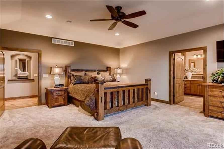 Master Bedroom of this 2-Bedroom,2594 Sq Ft Plan -2594