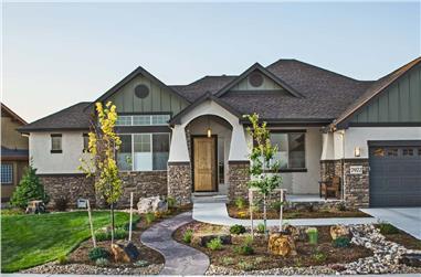 3-Bedroom, 2350 Sq Ft Ranch Home - Plan #161-1113 - Main Exterior
