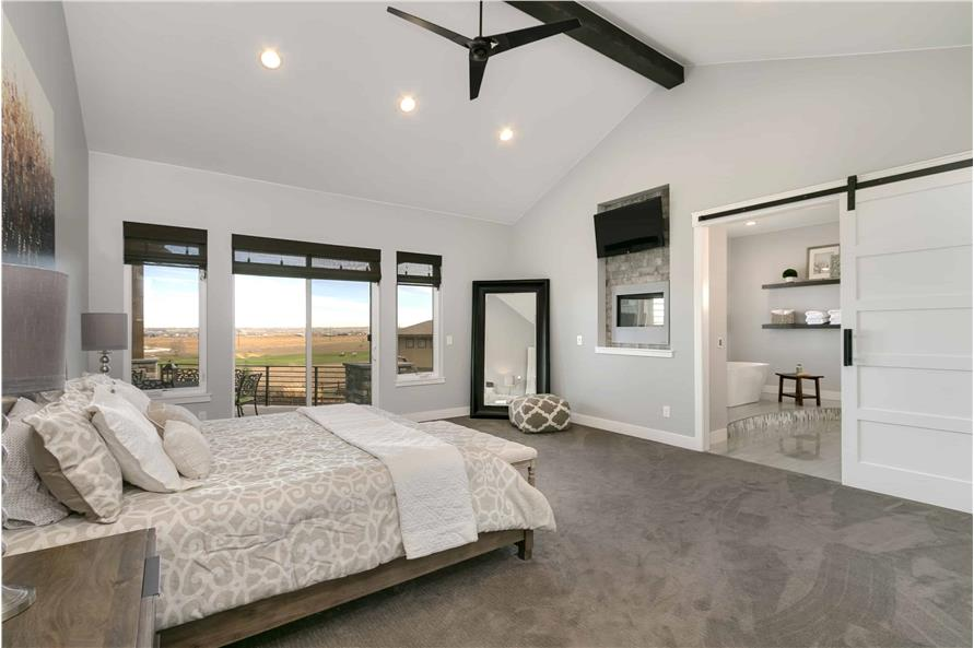 Master Bedroom of this 2-Bedroom,3526 Sq Ft Plan -3526