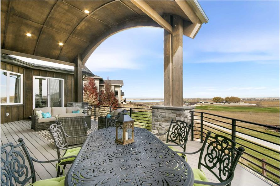 Deck of this 2-Bedroom,3526 Sq Ft Plan -3526