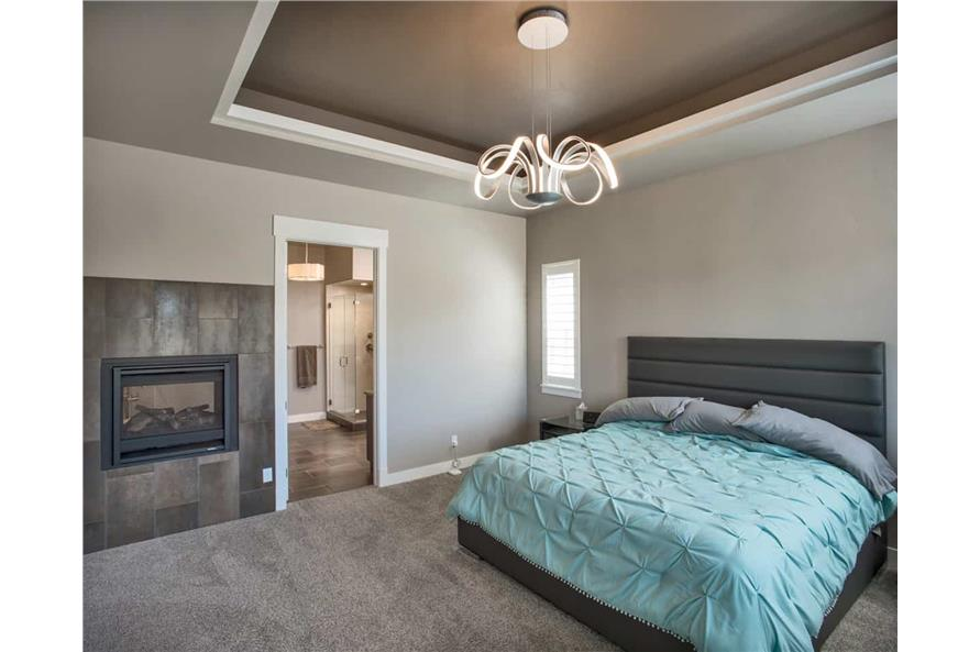 Master Bedroom of this 3-Bedroom,2650 Sq Ft Plan -2650